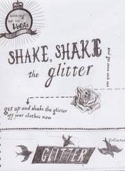 shake, shake,shake the glitter