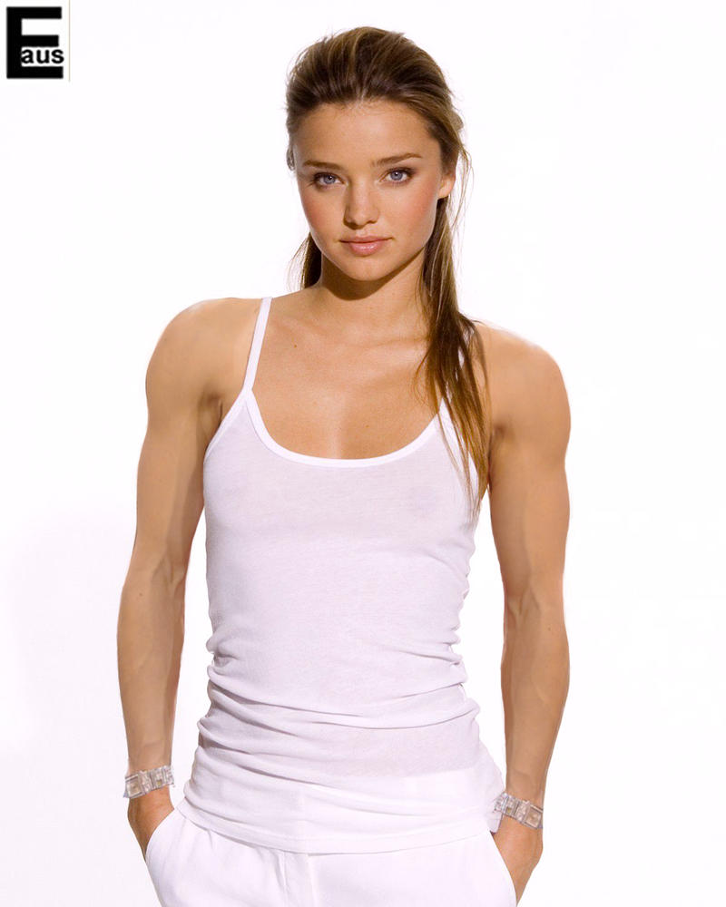 Muscular Miranda Kerr 2 by edinaus