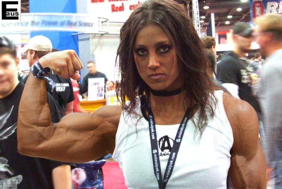 Teen Female Bodybuilder 1 by edinaus