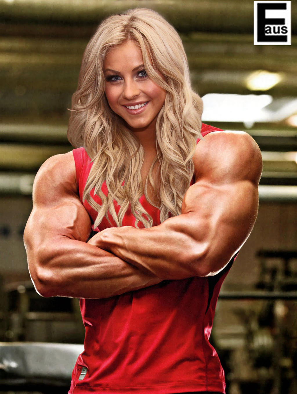 Huge Female Bodybuilder by edinaus