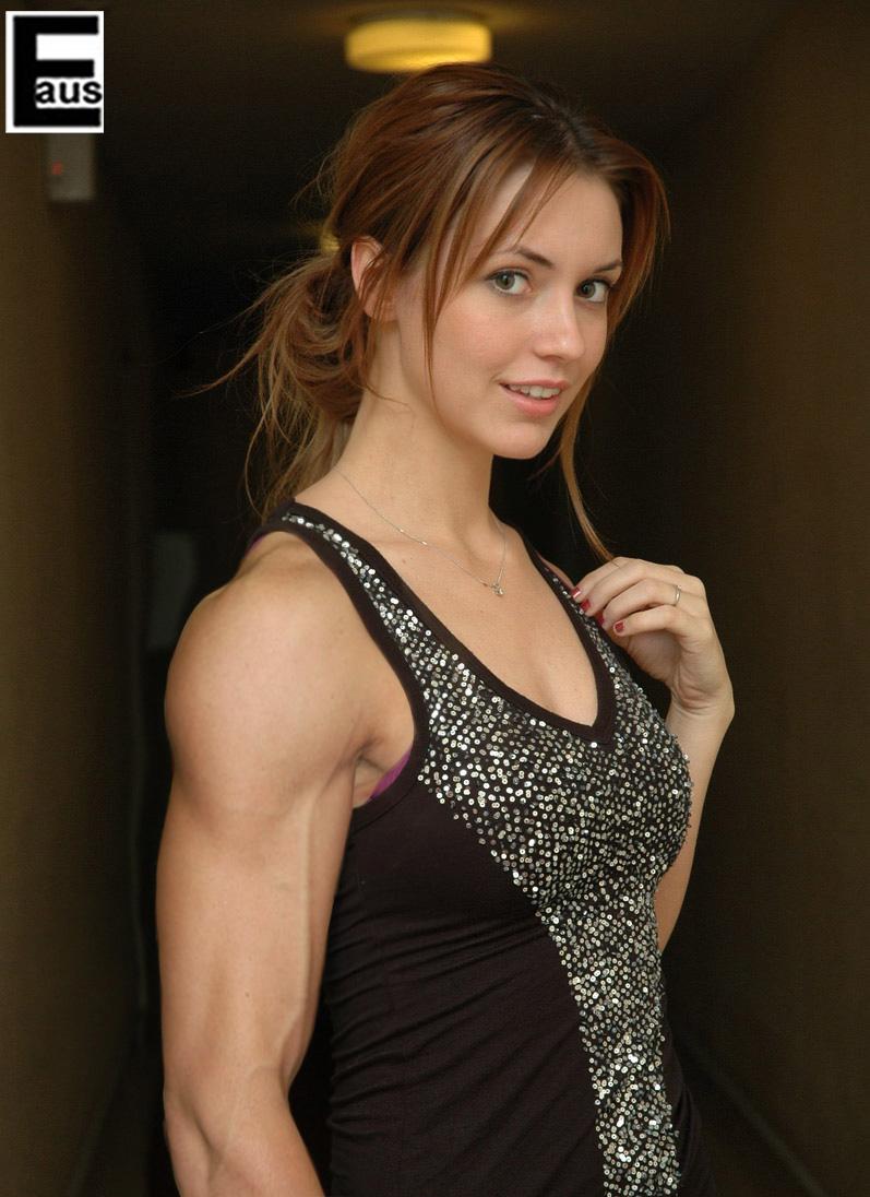 Teen weibliche Model Fitness