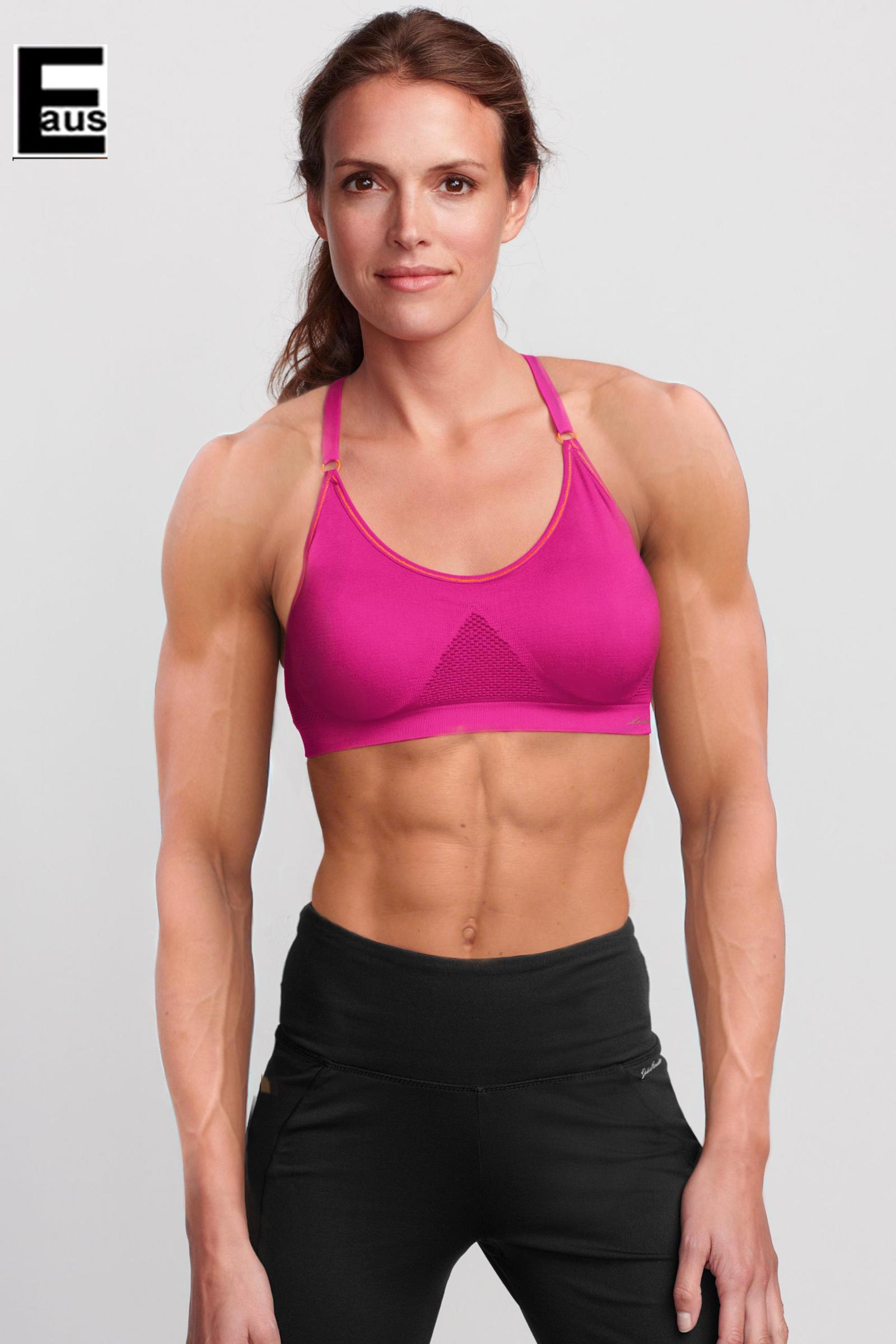 Female Fitness Model 3 by ~ edinaus