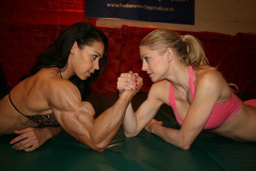 Watching her nude wrestling bodybuilders female bodybuilders see