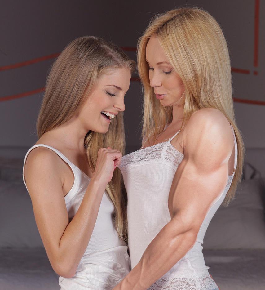 Muscular Lesbian 4 by edinaus