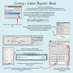 Creating a Signature Brush