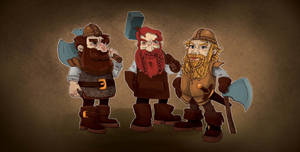 Dwarfs by BettyNobs