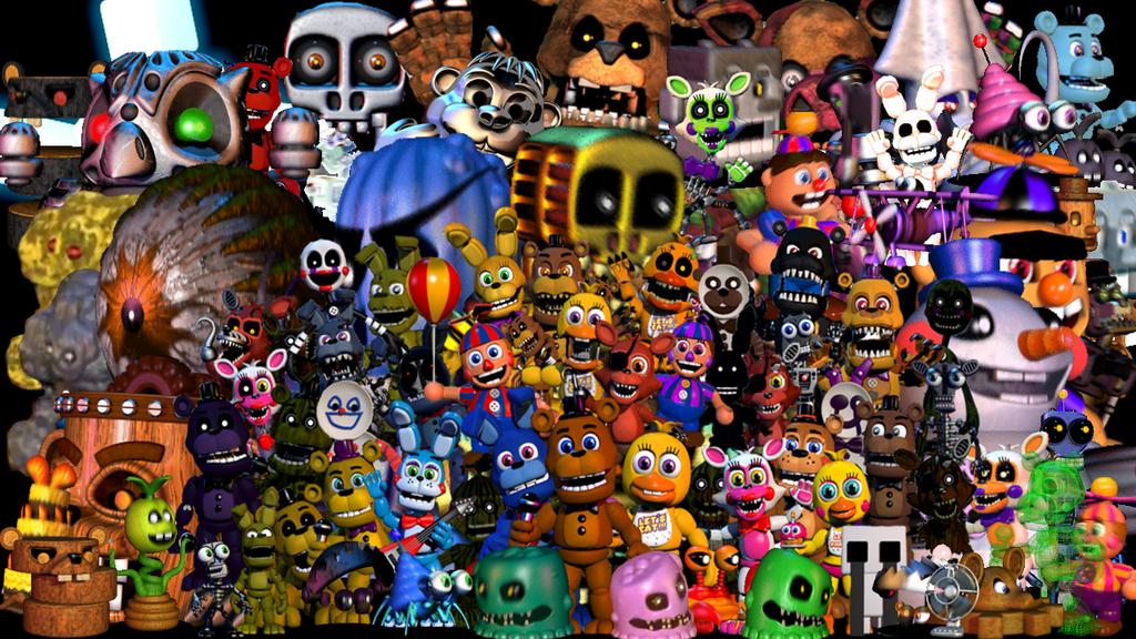Fnaf Alle Charaktere