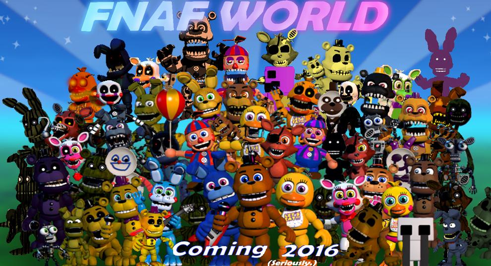 Fnaf World My Teaser by fnatirfan on DeviantArt