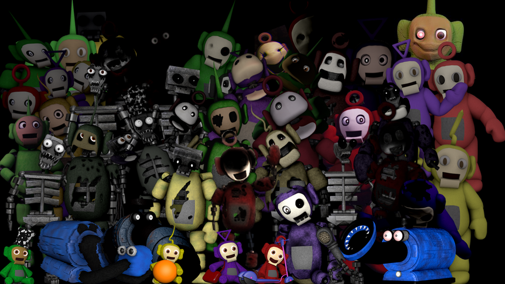 Five nights at tubbyland thank you image by fnatirfan on deviantart