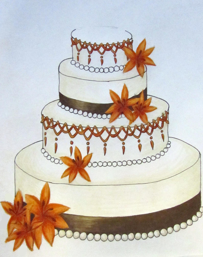 Wedding Cake Design Programs Free : Wedding Cake Design 1 by MagpieVon on deviantART