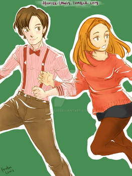 The Doctor and Amelia Pond