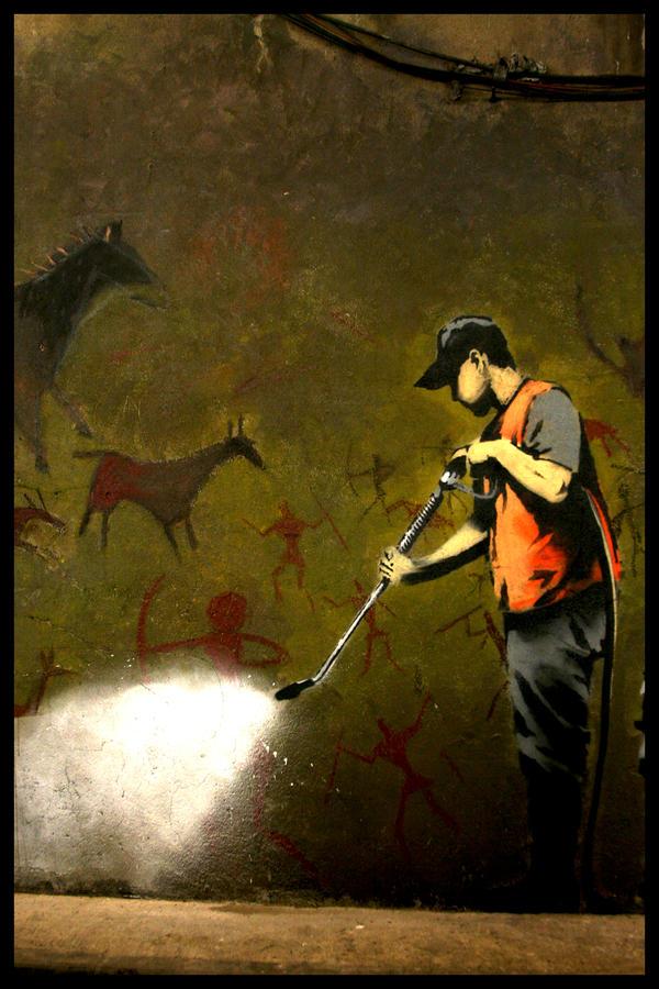 Banksy by ashma