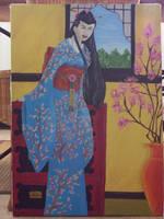 Fleur de cerisier by Midori-ossan