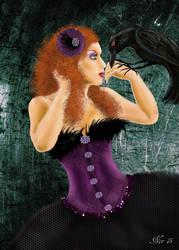 Lady Raven by Midori-ossan