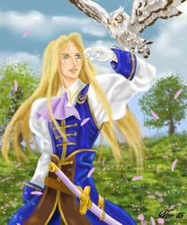 Allen, le chevalier magnifique by Midori-ossan