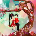 L'arbre coeur by Midori-ossan