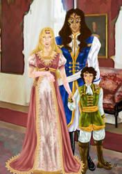 Escaflowne Project [chapitre 8] Aston-Fassa Family by Midori-ossan