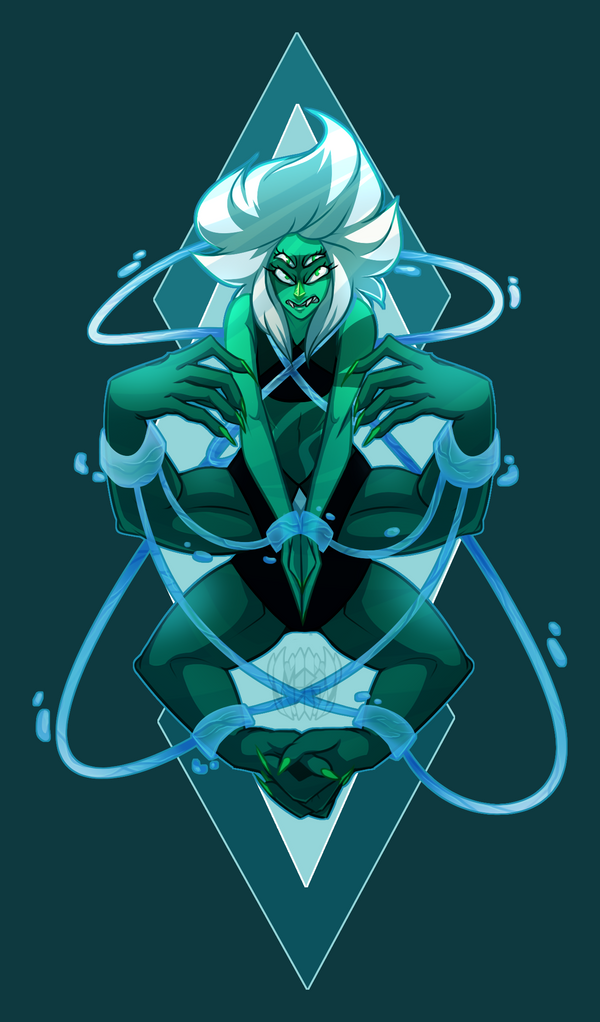 Decided to do another Malachite on the side Here she is