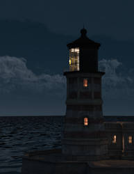Parkside Point Lighthouse by argel1200
