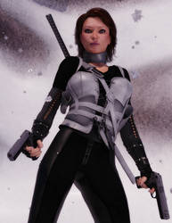 Action Girl Antarctica by argel1200