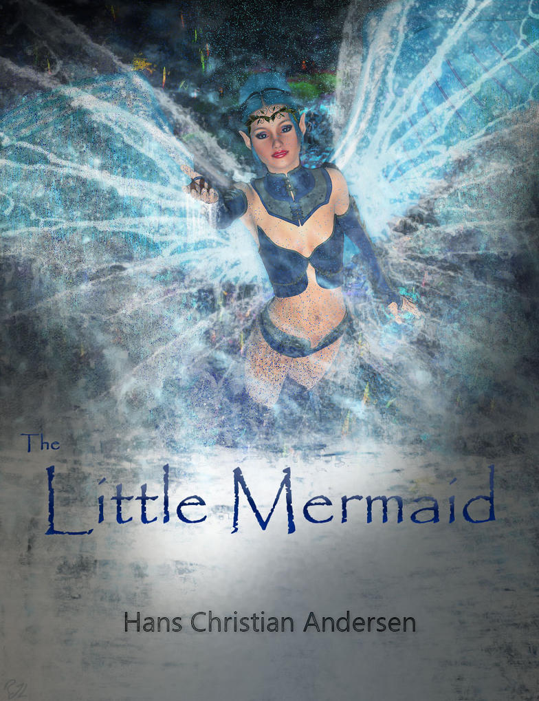 Little Mermaid Book Cover By Russ Lebar by argel1200