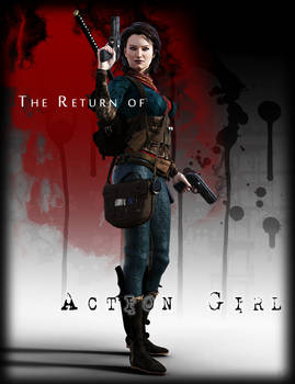 The Return of Action Girl Graphic Novel Cover