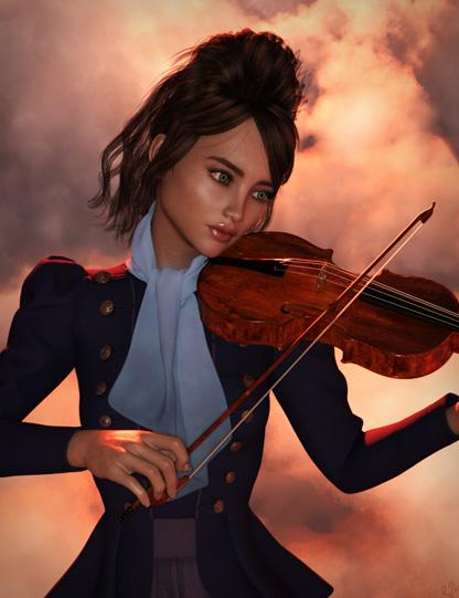 Evelyn Rose - Violin by argel1200