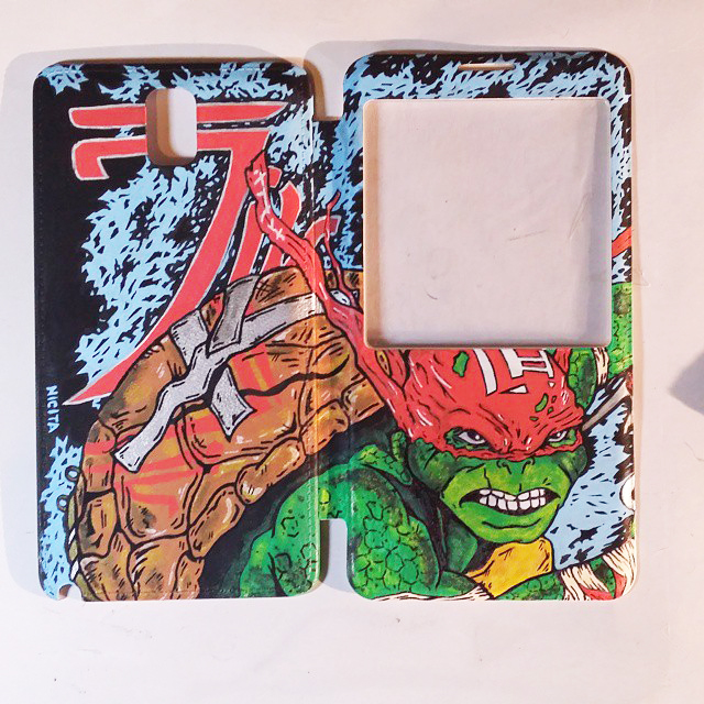 Raphael 2014 Ninja Turtles custom Phone Case by nicitadesigns