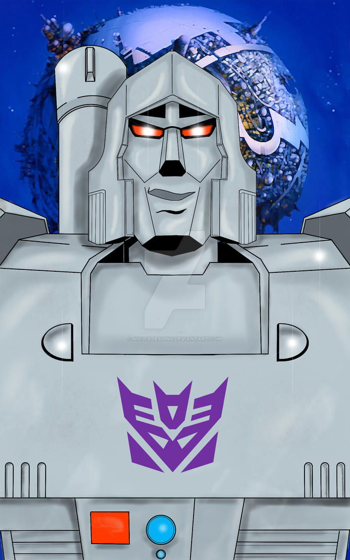 Transformers Megatron by nicitadesigns
