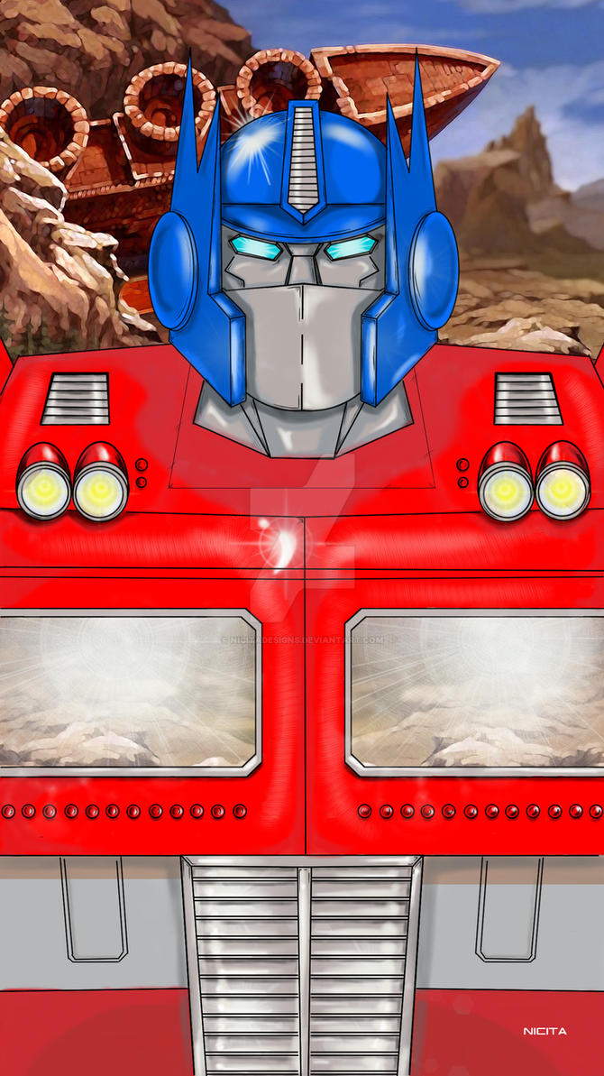 Optimus Prime  transformers by nicitadesigns