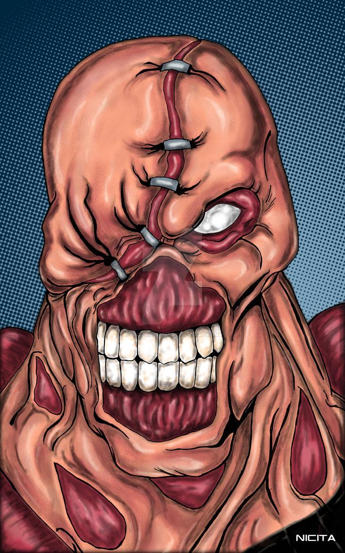 Resident Evil Nemesis by nicitadesigns