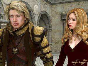 Tristan and Belle argue