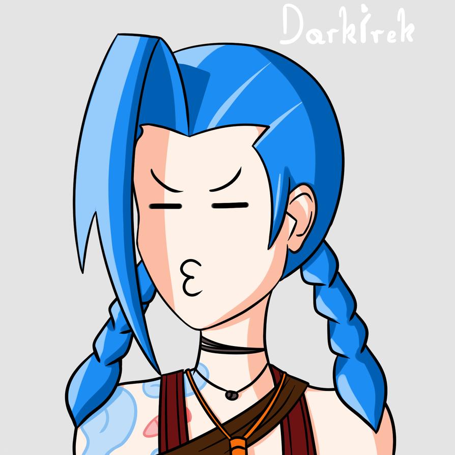 DarkIrek-Jinx by DarkIrek