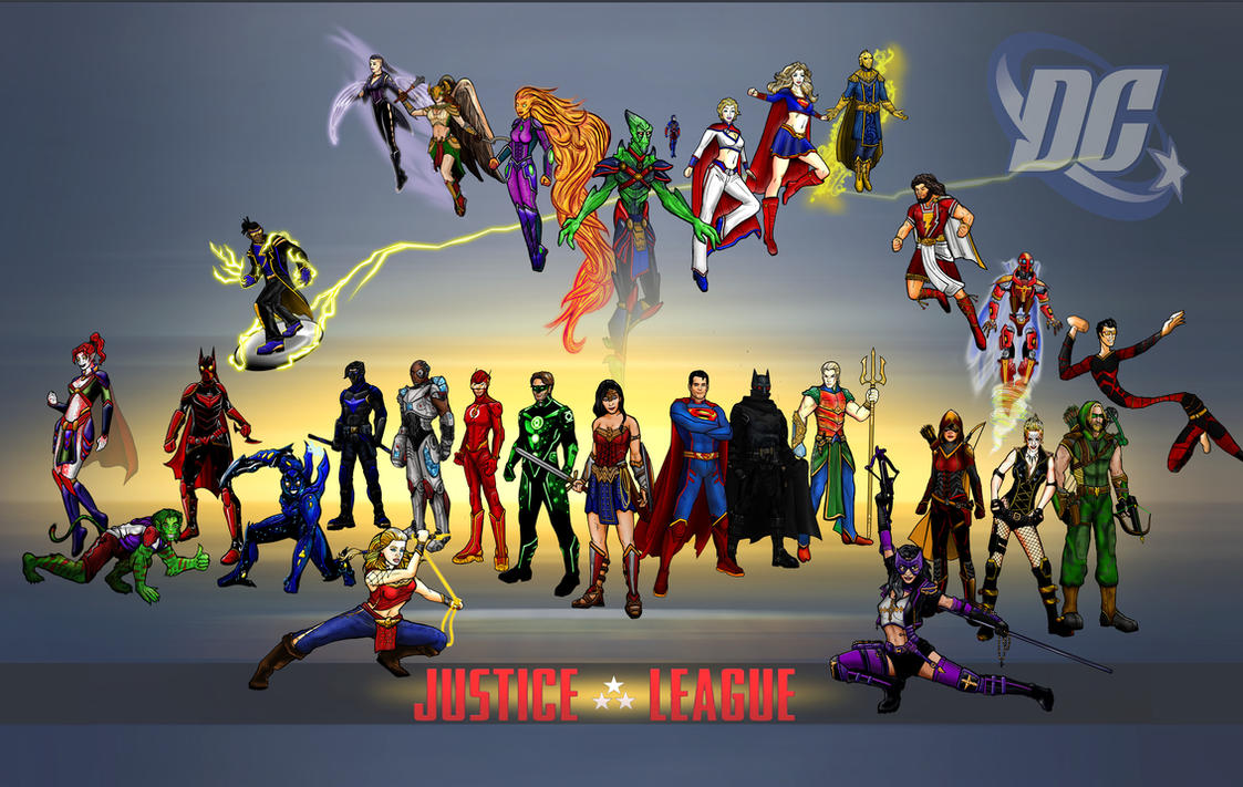 JLA rebooted by rainingcrow