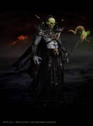 skeletor finished by rainingcrow