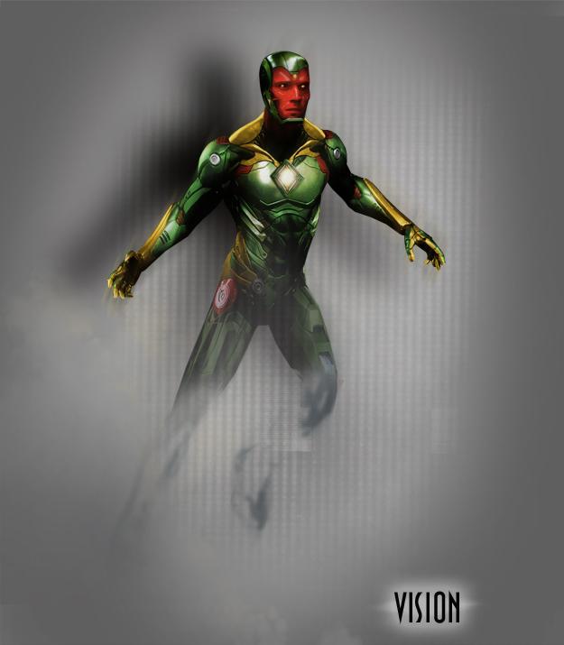 Avengers 2 Vision Concept Art