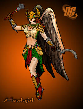 Hawkgirl 2011 design redux