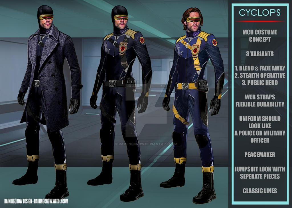 Cyclops - AN MCU costume concept