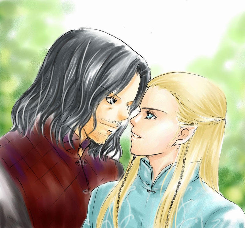 Aragorn And Legolas By Candytuff On DeviantArt