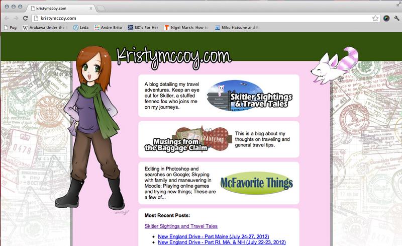Website WIP by Doukyusei