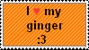 i :heart: my ginger by Hoshiko-demon