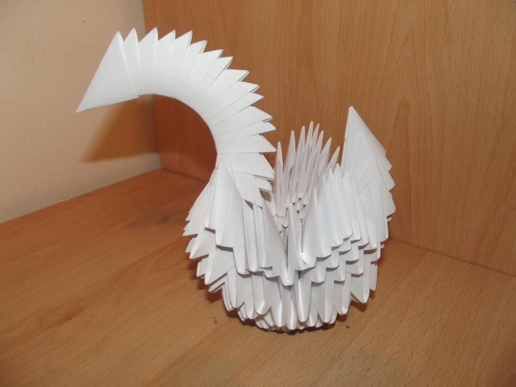 3D Origami Swan  Origami Resource Center