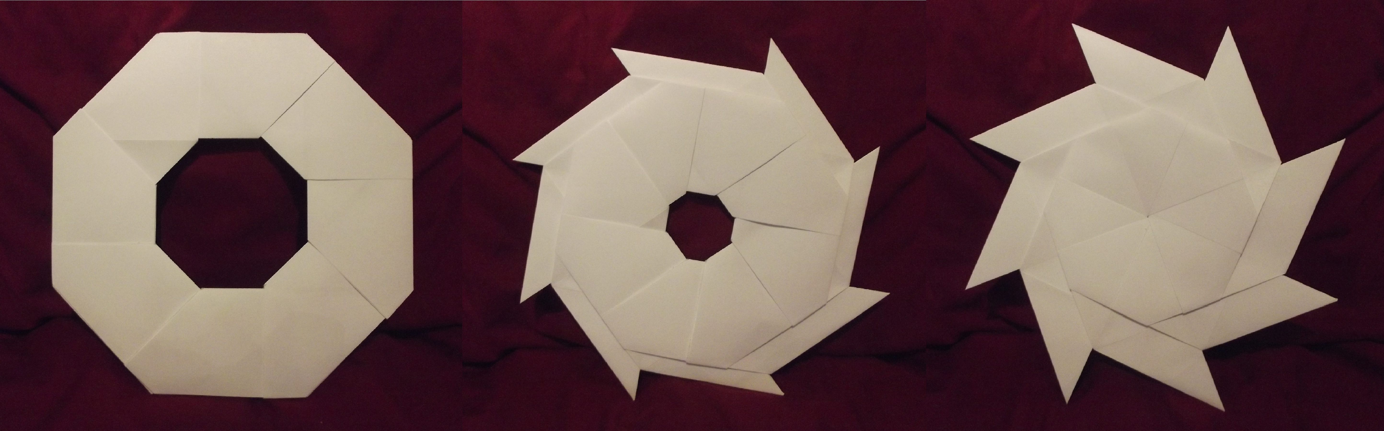 Origami Transforming Ninja Star by ThatAndyGuy95 on DeviantArt - photo#40