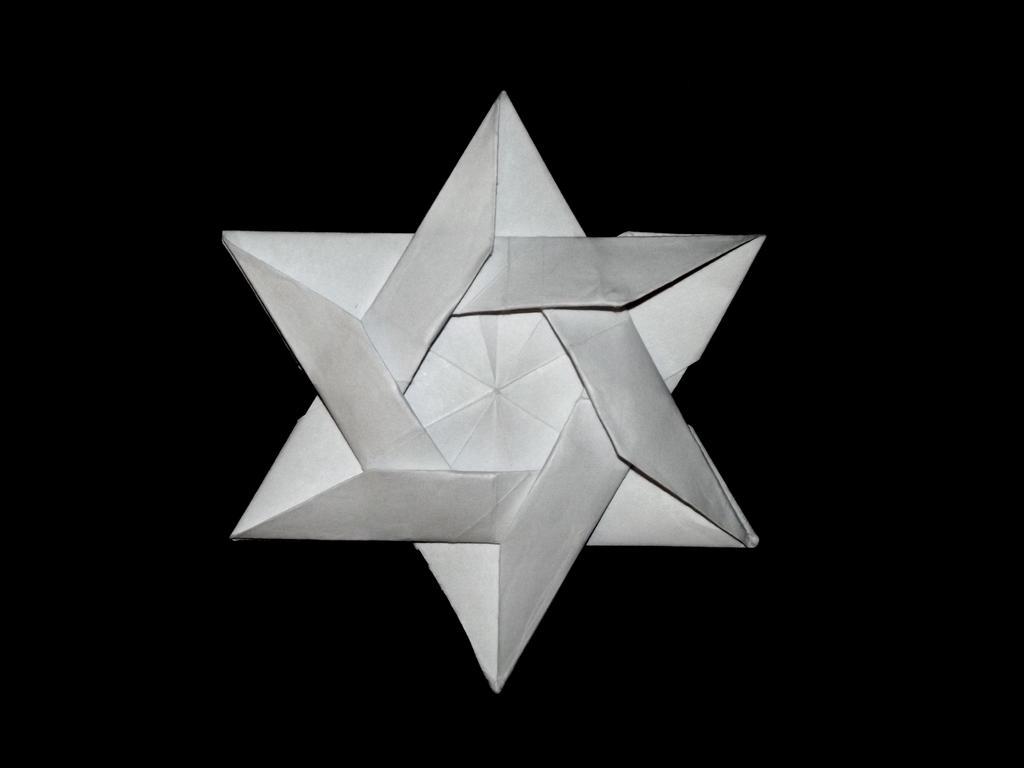 one piece origami flower