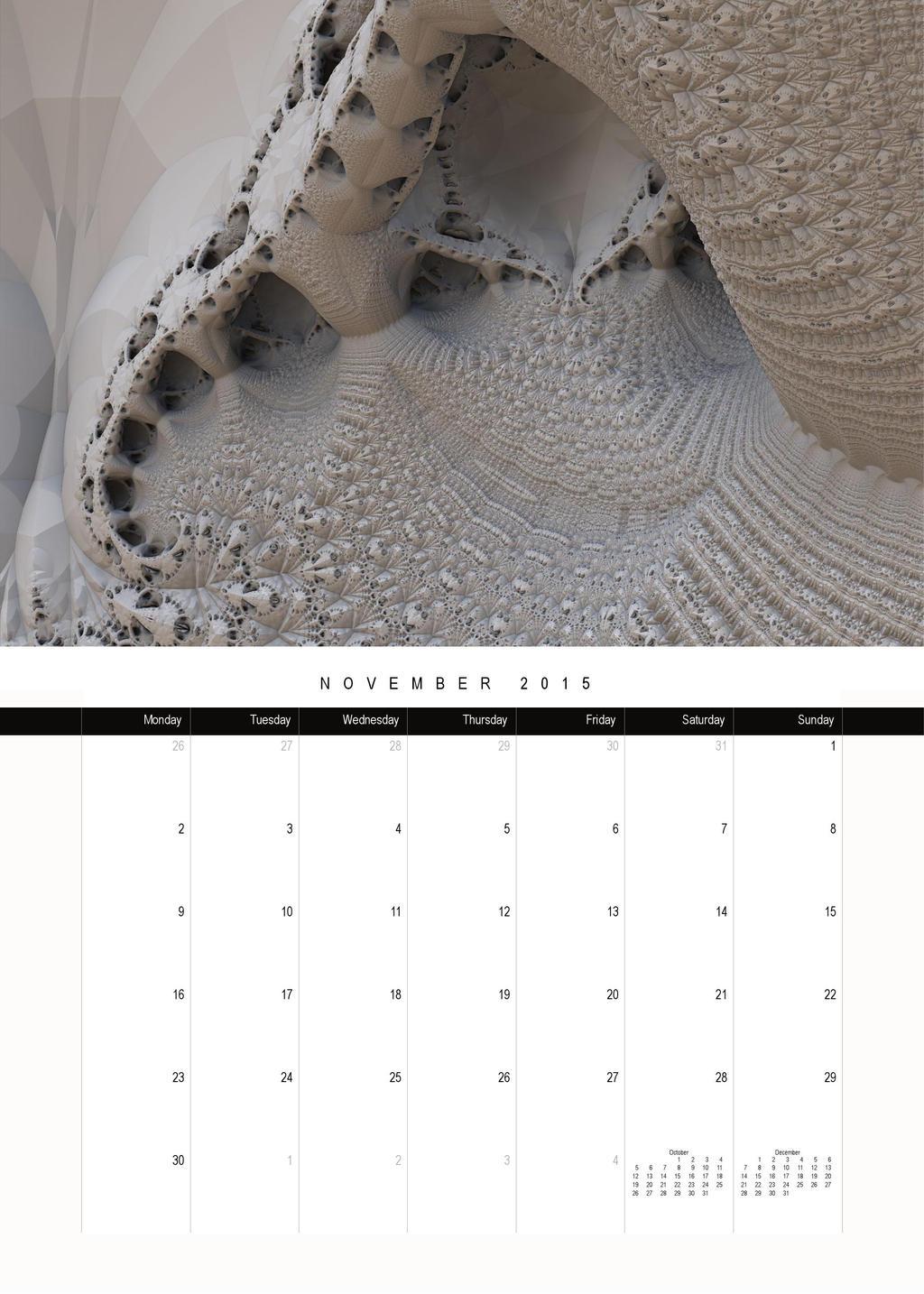 2015-calendar-mandelbulb-premium-mauxuam 000012 by mauxuam