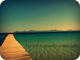 blue sea by KCELphotography