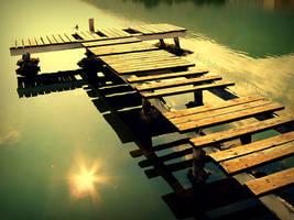 old bridge by KCELphotography