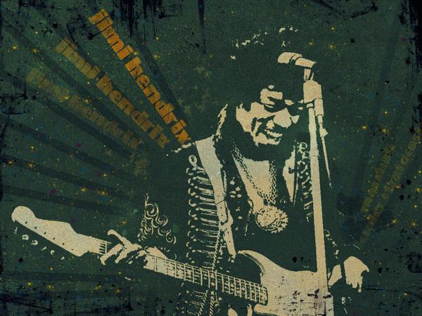 Jimi Hendrix - wall  2.0 by MahoneyCZ