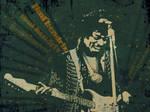 Jimi Hendrix - wall  2.0