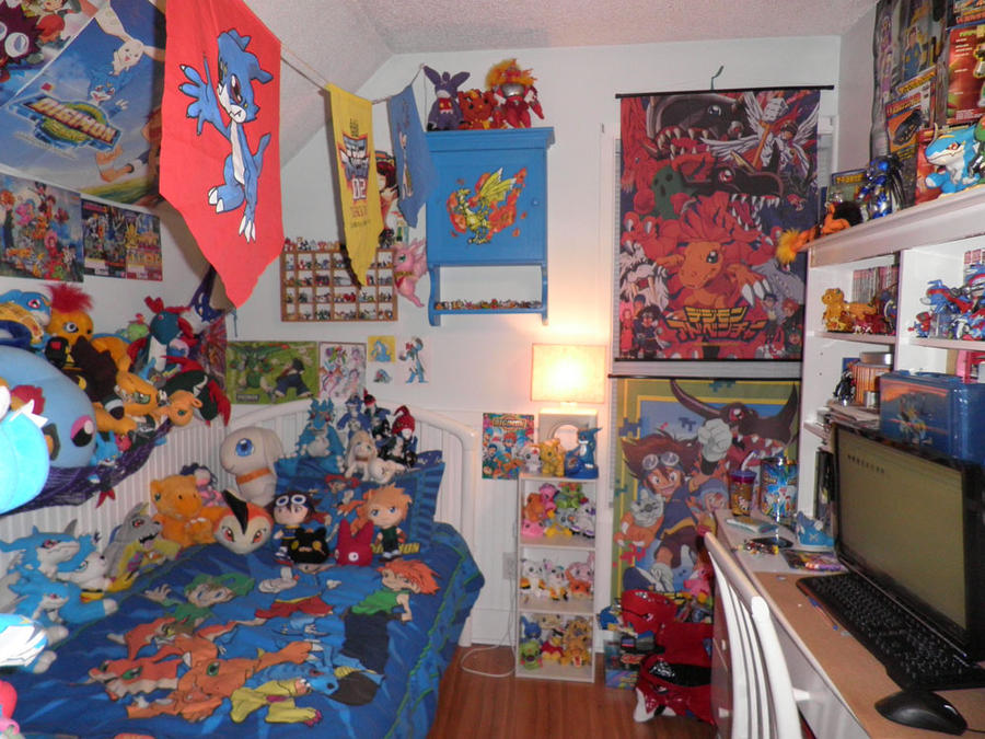 Digimon theme room by Kitamon